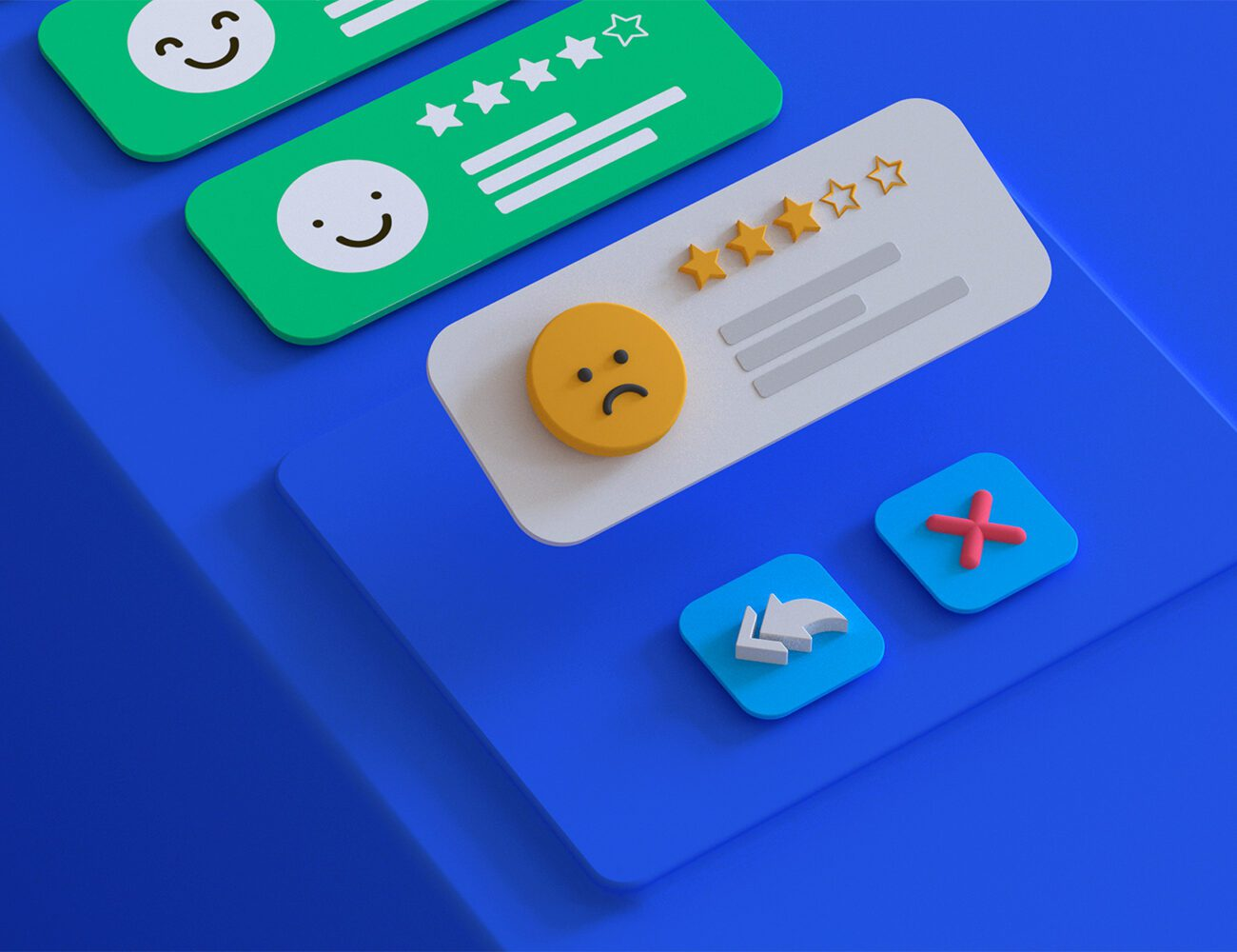 How to handle reviews and improve the app rating?